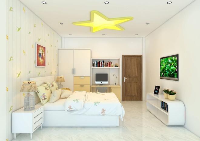 Thiết kế nhà phố 62m2 cao 3 tầng đẹp hiện đại và tinh tế - 08
