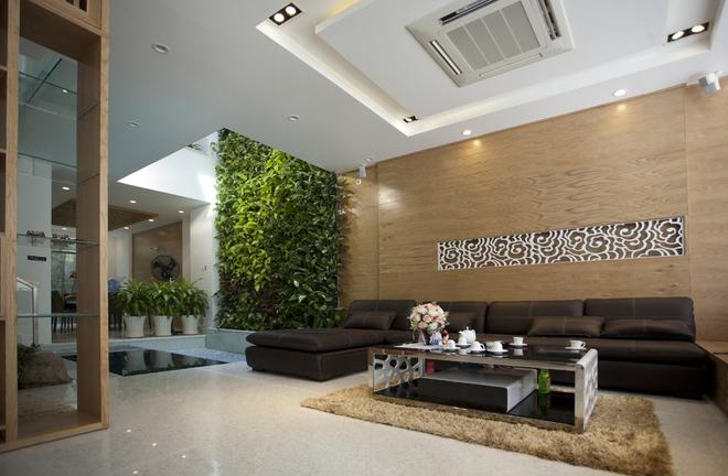Thiết kế nhà ống đẹp tại Nam Định tràn ngập thiên nhiên - 01