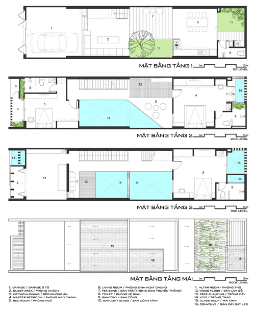 Chiêm ngưỡng mẫu thiết kế nhà phố ngập tràn ánh sáng 100m2 ở Hà Nội - 01