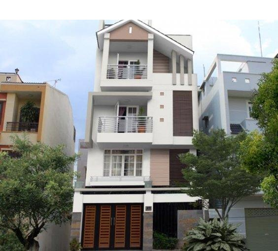 Mẫu thiết kế nhà phố 47m2 với 2 mặt tiền đẹp hoàn mỹ - 01