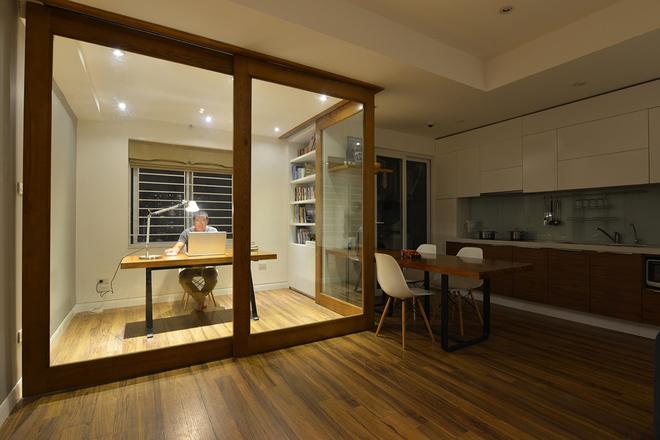 Thiết kế nhà trệt nội thất gỗ đơn giản với đầy đủ các không gian chức năng - 03