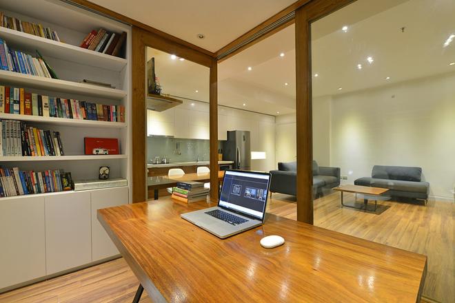 Thiết kế nhà trệt nội thất gỗ đơn giản với đầy đủ các không gian chức năng - 04