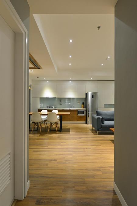 Thiết kế nhà trệt nội thất gỗ đơn giản với đầy đủ các không gian chức năng - 05