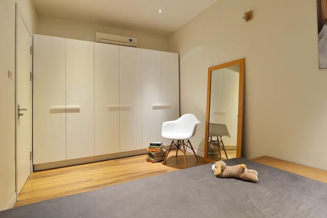 Thiết kế nhà trệt nội thất gỗ đơn giản với đầy đủ các không gian chức năng - 06