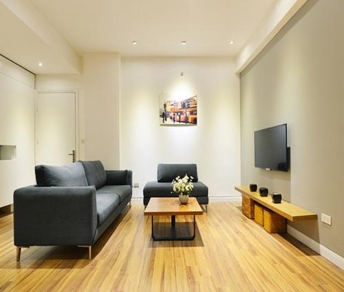 Thiết kế nhà trệt nội thất gỗ đơn giản với đầy đủ các không gian chức năng