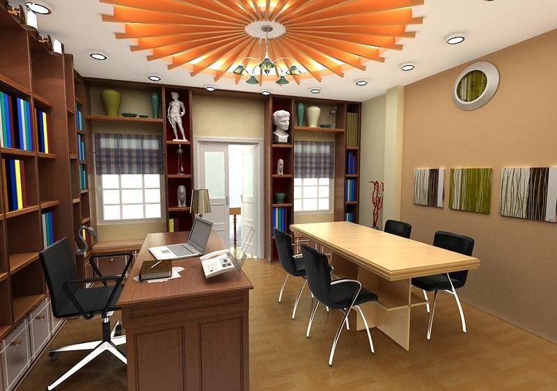 Những mẫu thiết kế nội thất văn phòng 20m2 đầy đủ tiện nghi - 01