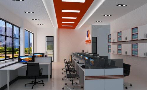 Những mẫu thiết kế nội thất văn phòng 20m2 đầy đủ tiện nghi - 04