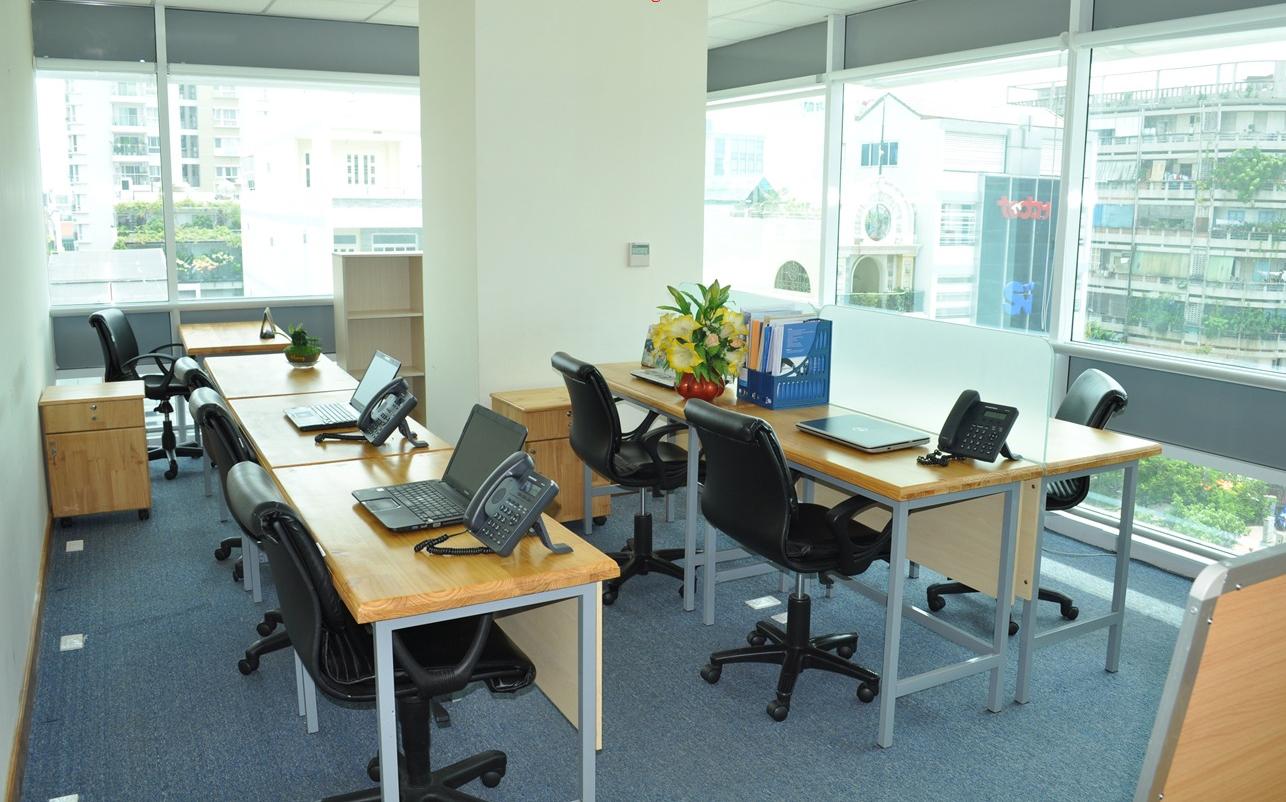 Những mẫu thiết kế nội thất văn phòng 20m2 đầy đủ tiện nghi - 05