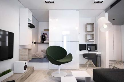 Thiết kế nội thất tinh tế cho căn hộ chung cư nhỏ đẹp