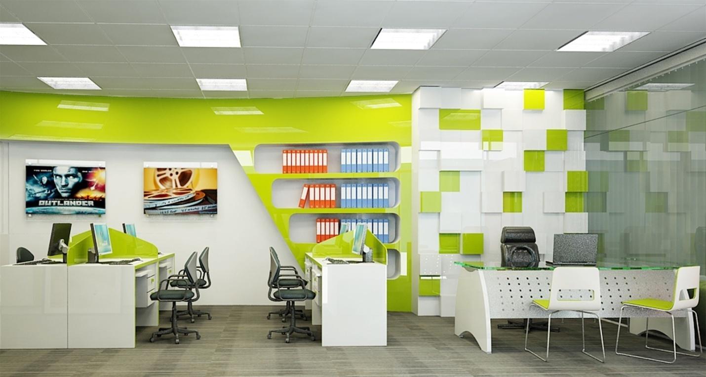 Thiết kế nội thất văn phòng tư nhân với không gian chuẩn mực - 02