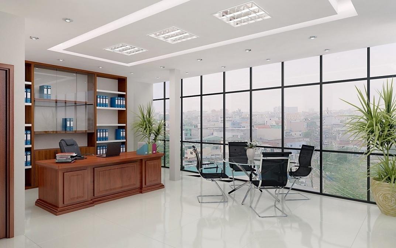 Thiết kế nội thất văn phòng tư nhân với không gian chuẩn mực - 03