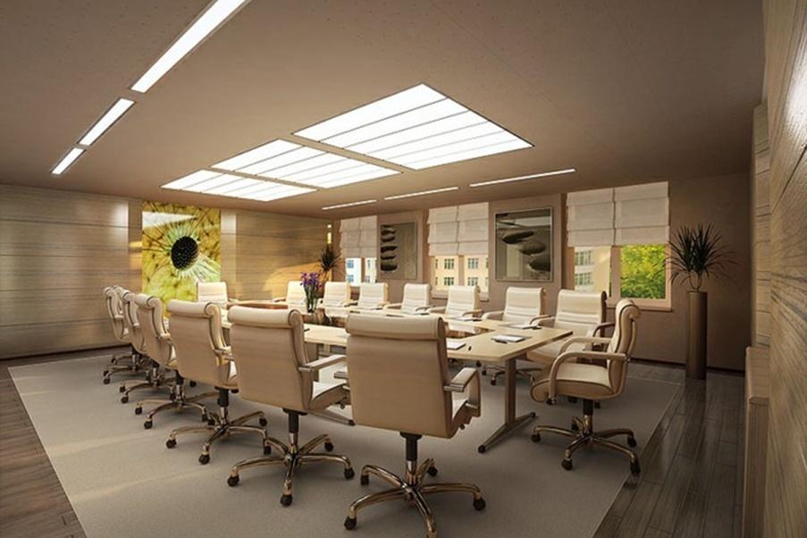 Thiết kế nội thất văn phòng tư nhân với không gian chuẩn mực - 04