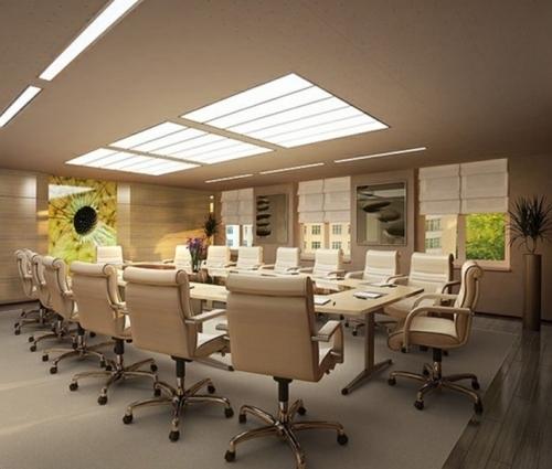 Thiết kế nội thất văn phòng tư nhân với không gian chuẩn mực