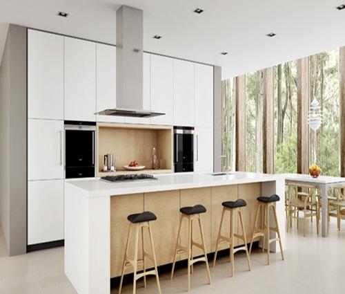 Thiết kế phòng bếp cho biệt thự hiện đại