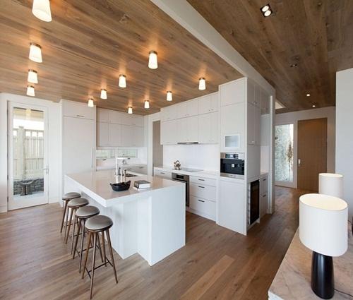 Thiết kế phòng bếp có đảo bếp tiện lợi