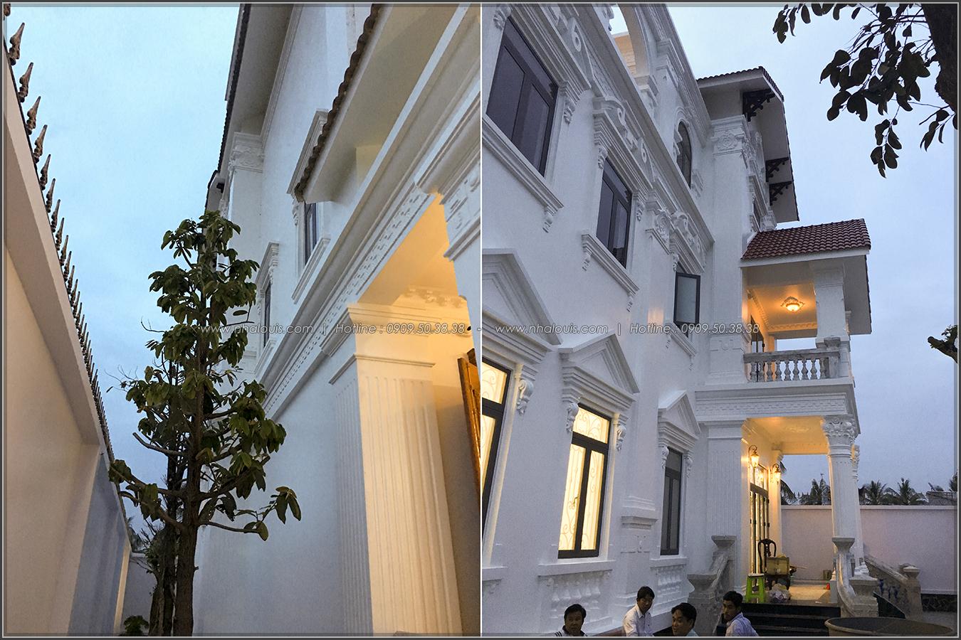 Thiết kế thi công biệt thự cổ điển kiểu Pháp tại Bạc Liêu - 11