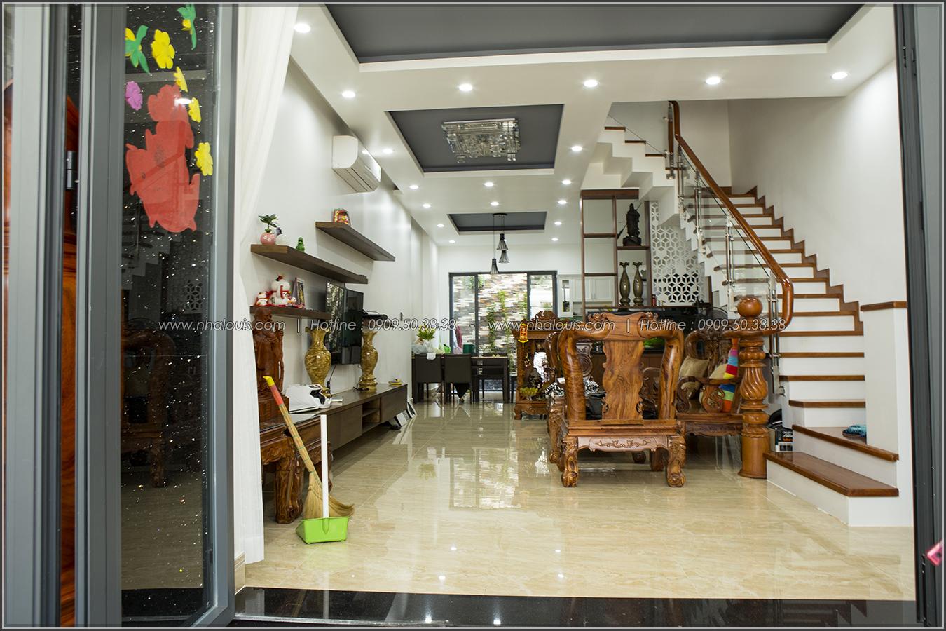 Thiết kế thi công nhà phố liền kề 5m x20m 3 tầng tại KDC Bình Phú quận 6 - 07