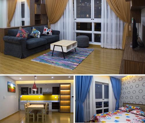 Thiết kế thi công nội thất căn hộ cao cấp Happy Valley quận 7