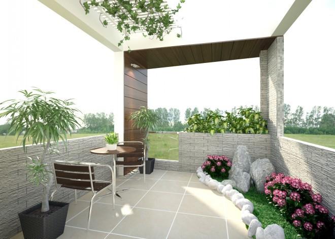 Thiết kế tiểu cảnh sân thượng đẹp cho những ngôi nhà nhỏ