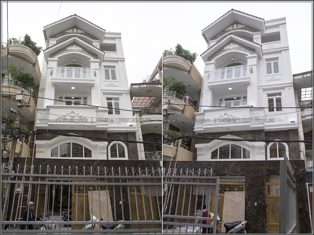 Thiết kế và thi công biệt thự có hồ bơi xanh mát tại Tân Bình - 01