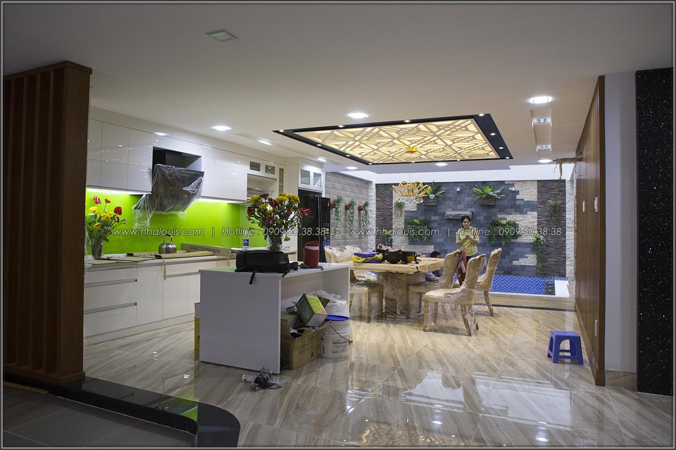 Thiết kế và thi công biệt thự phố đẹp với hồ bơi xanh mát tại Tân Bình - 05