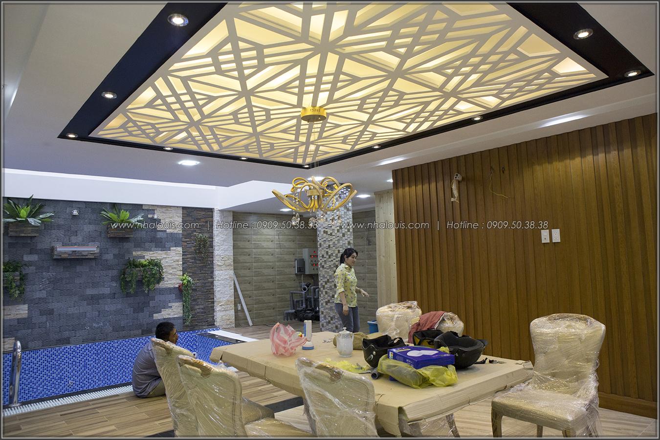 Thiết kế và thi công biệt thự phố đẹp với hồ bơi xanh mát tại Tân Bình - 07