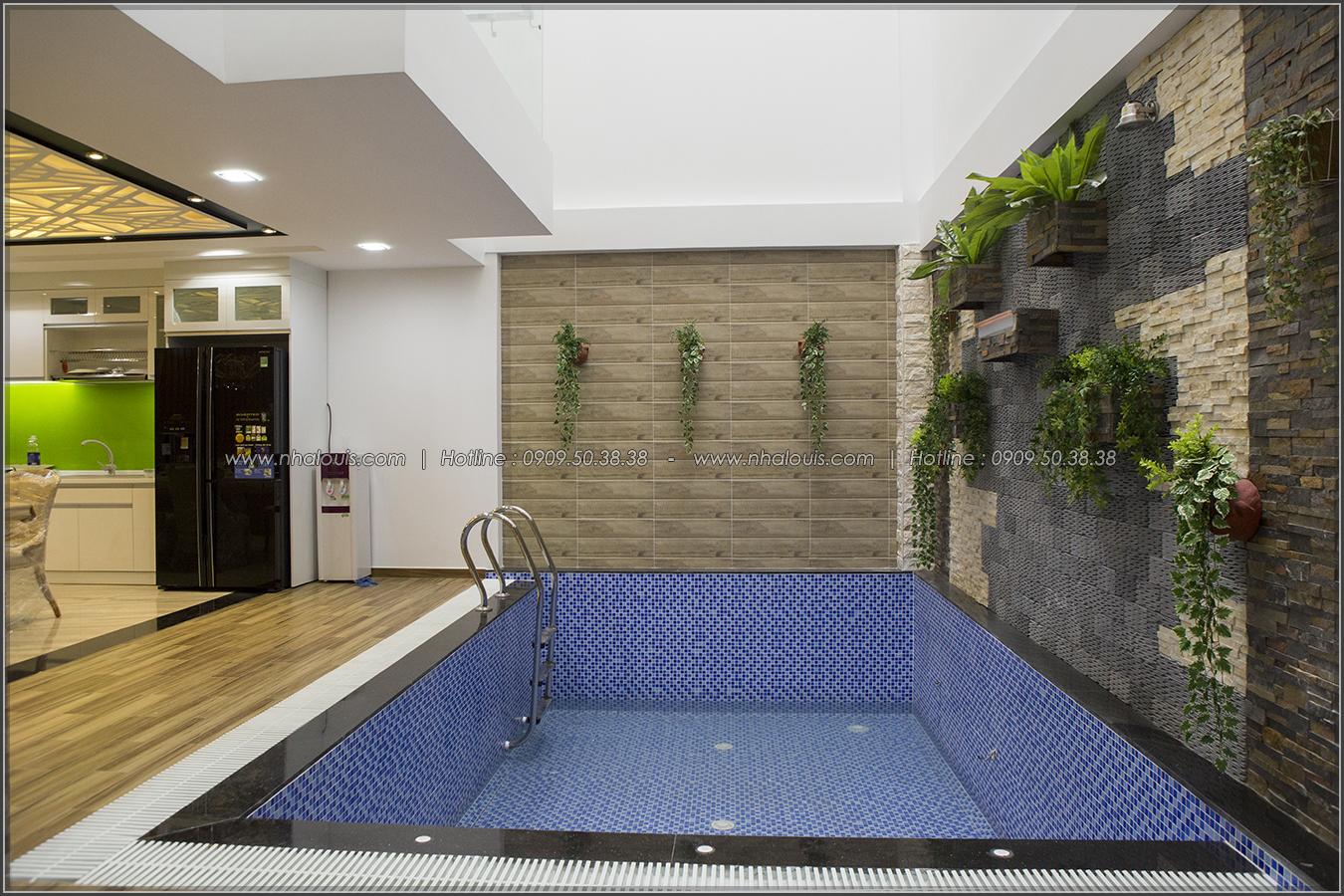 Thiết kế và thi công biệt thự phố đẹp với hồ bơi xanh mát tại Tân Bình - 09