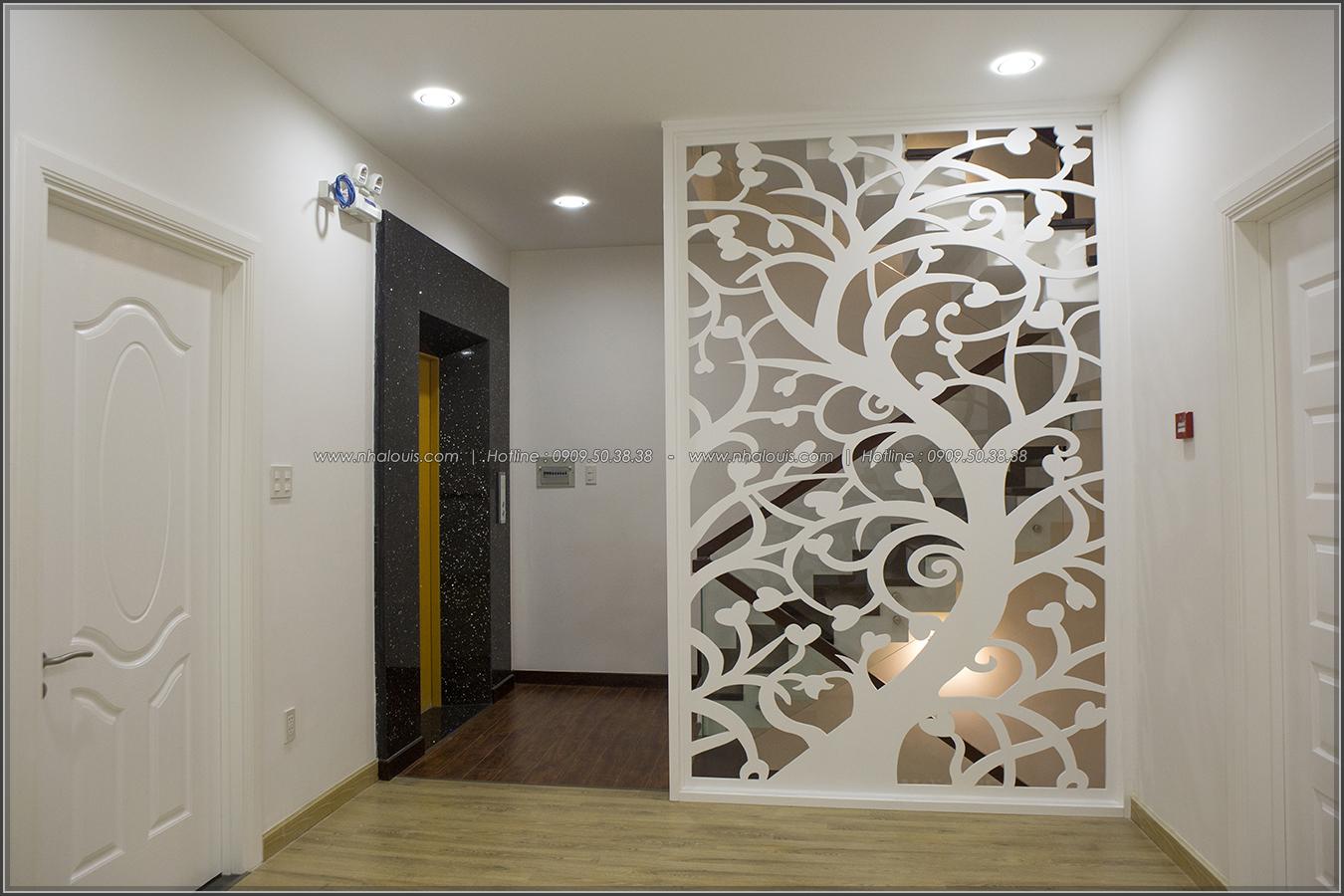 Thiết kế và thi công biệt thự phố đẹp với hồ bơi xanh mát tại Tân Bình - 17