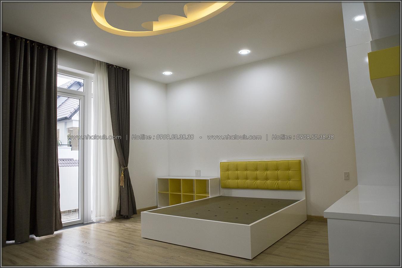 Thiết kế và thi công biệt thự phố đẹp với hồ bơi xanh mát tại Tân Bình - 19