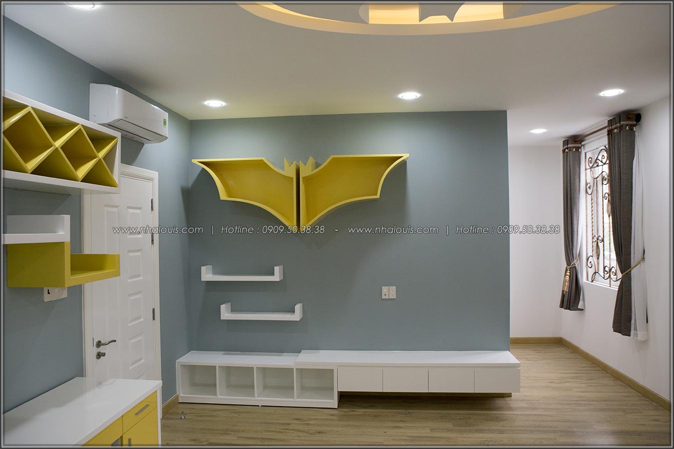 Thiết kế và thi công biệt thự phố đẹp với hồ bơi xanh mát tại Tân Bình - 22