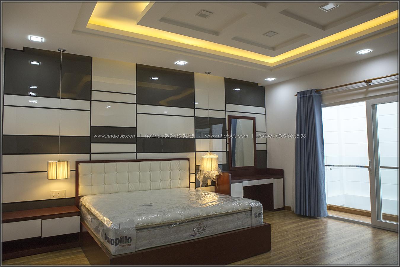 Thiết kế và thi công biệt thự phố đẹp với hồ bơi xanh mát tại Tân Bình - 33