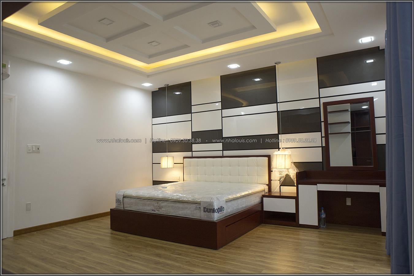 Thiết kế và thi công biệt thự phố đẹp với hồ bơi xanh mát tại Tân Bình - 34