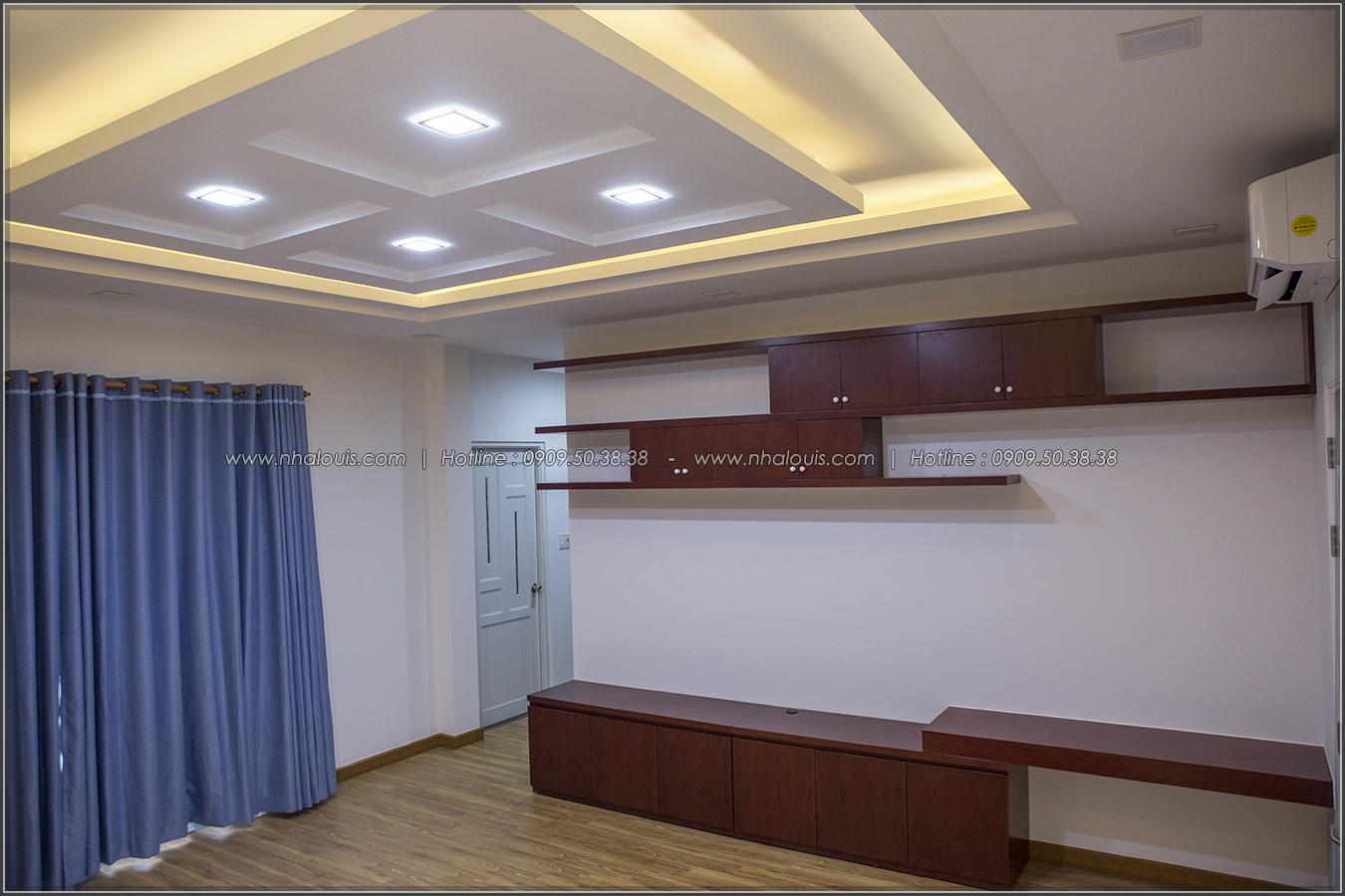 Thiết kế và thi công biệt thự phố đẹp với hồ bơi xanh mát tại Tân Bình - 36