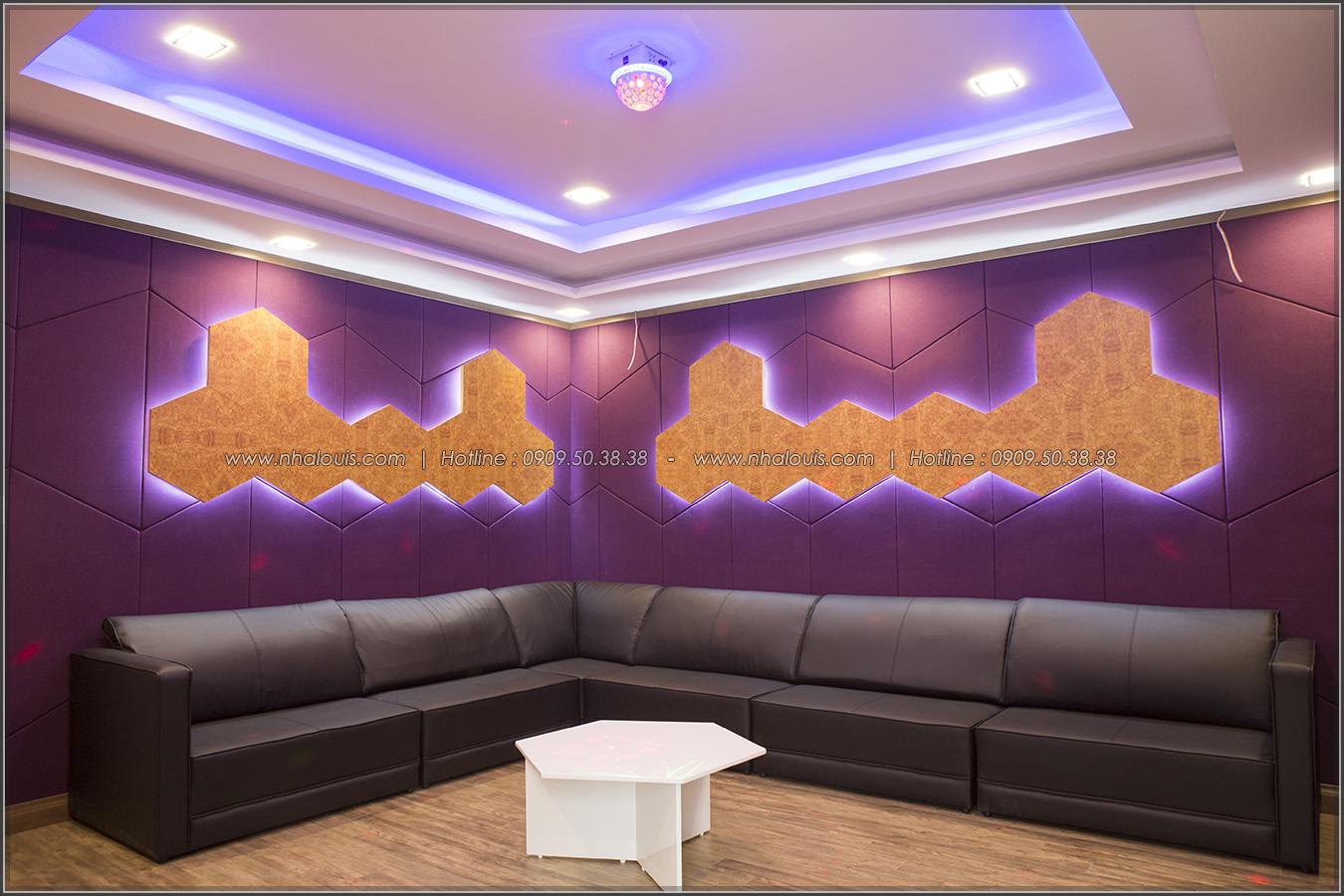 Thiết kế và thi công biệt thự phố đẹp với hồ bơi xanh mát tại Tân Bình - 47