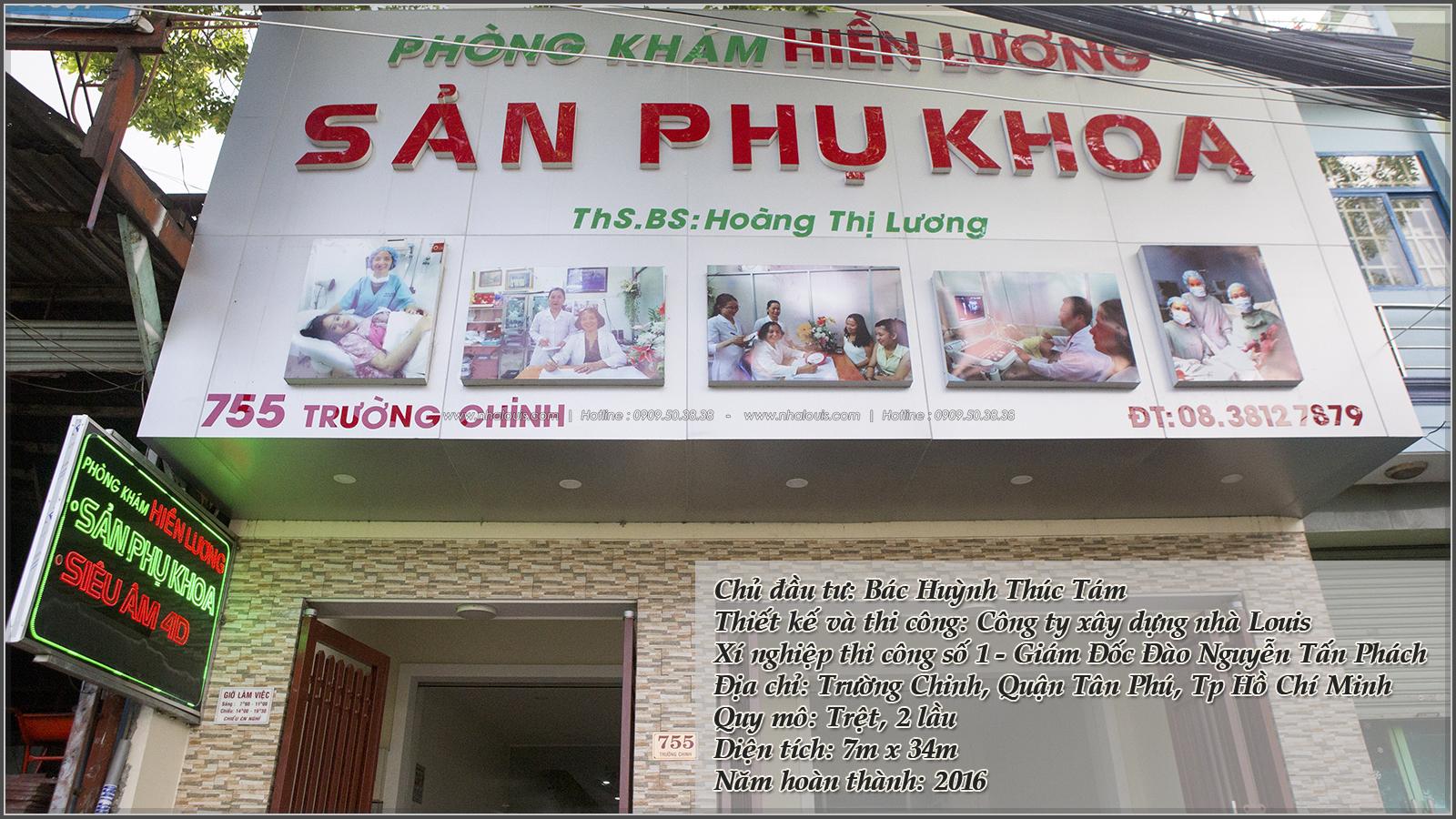 Thiết kế và thi công phòng khám phụ sản tại quận Tân Phú - 01