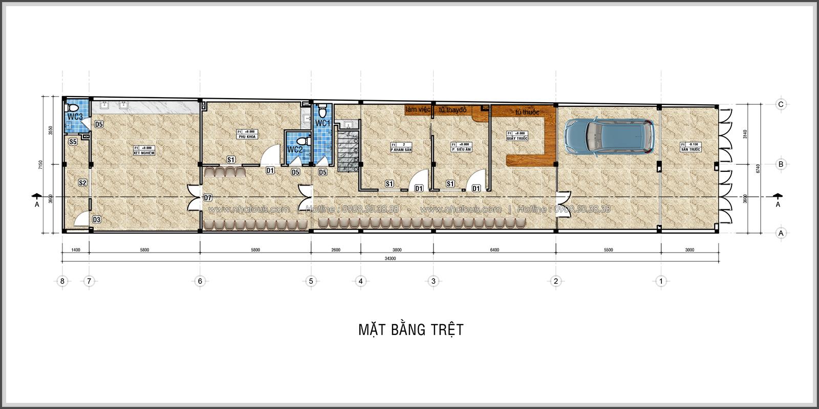 Thiết kế và thi công phòng khám phụ sản tại quận Tân Phú - 05