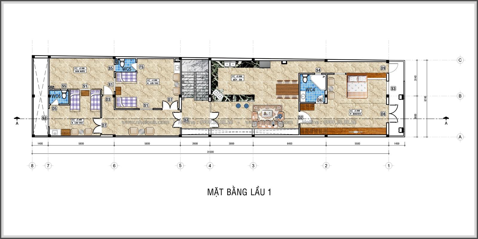 Thiết kế và thi công phòng khám phụ sản tại quận Tân Phú - 10