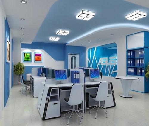 Thiết kế văn phòng có diện tích nhỏ không bị bí bách