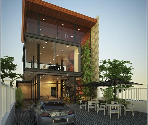 Thiết kế văn phòng hiện đại với phong cách mở tại Bình Dương