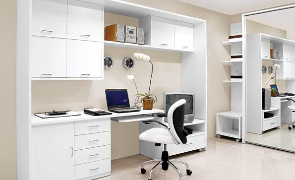 Những mẫu thiết kế văn phòng làm việc tại nhà tiện nghi - 03