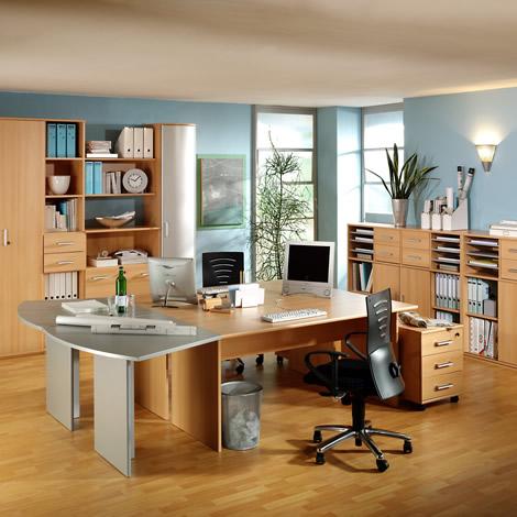 Những mẫu thiết kế văn phòng làm việc tại nhà tiện nghi - 04