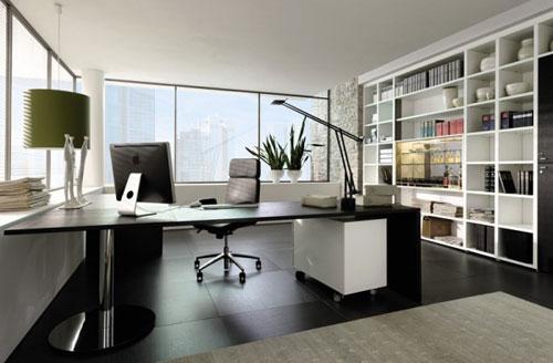 Những mẫu thiết kế văn phòng làm việc tại nhà tiện nghi - 05