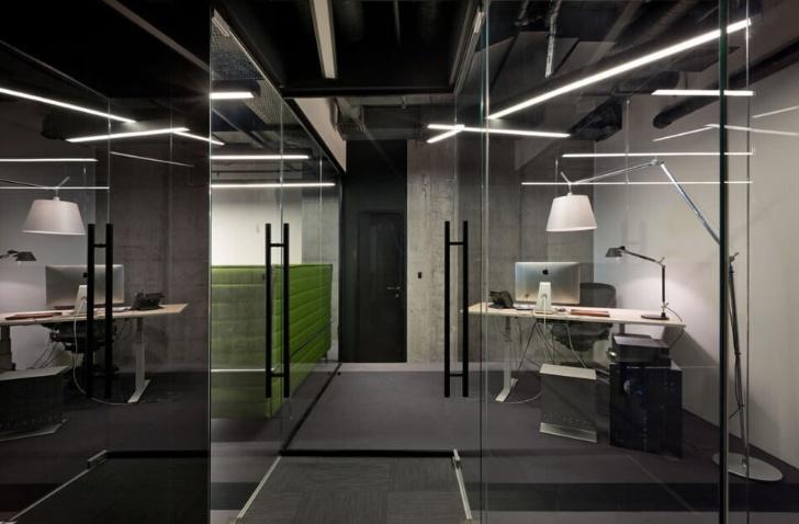 Thiết kế văn phòng giống bộ vi xử lý máy tính mới lạ và độc đáo - 03