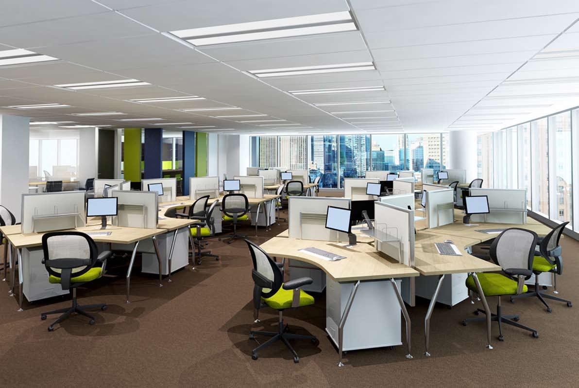 Những mẫu thiết kế văn phòng mở xu hướng 2017 - 04