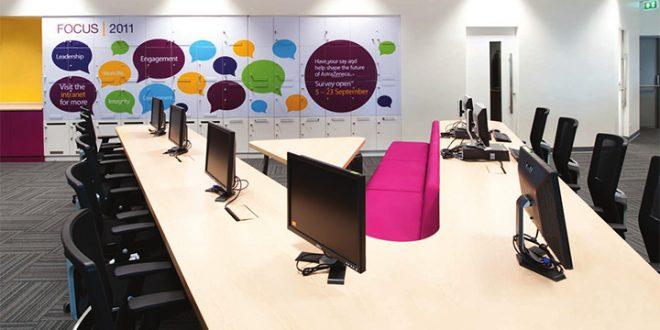 Những mẫu thiết kế văn phòng startup đẹp ngất ngây - 02