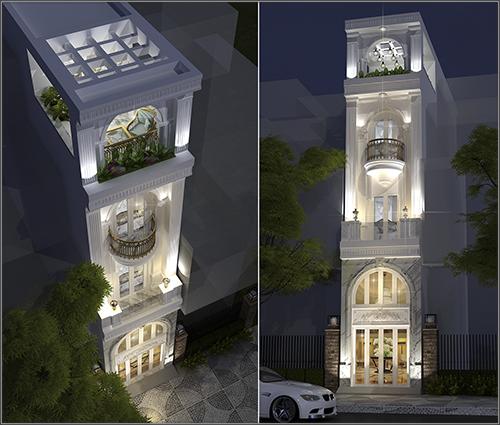 Tư vấn thiết kế xây dựng nhà phố nhà ống 2017 miễn phí