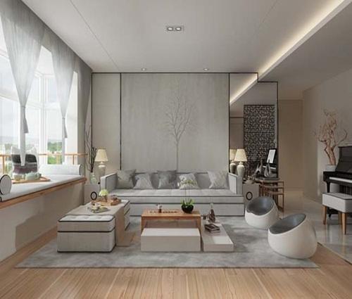 Thư giãn trong căn hộ hiện đại mang màu sắc Á Đông