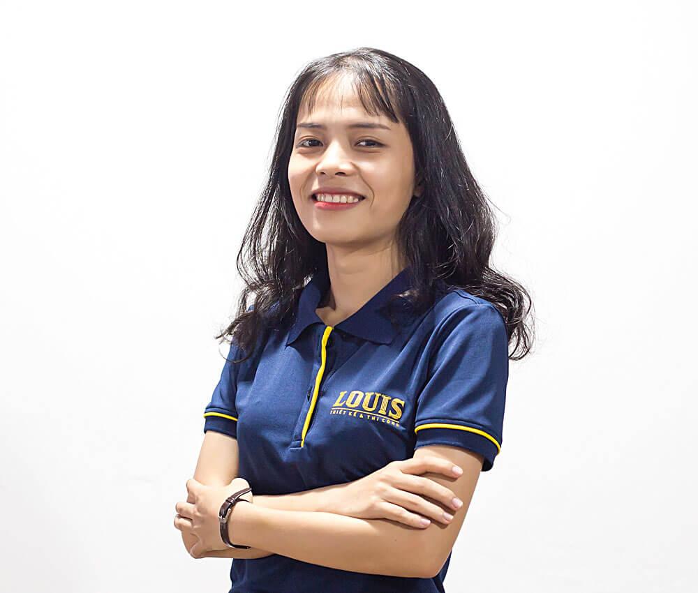 Chuyên Viên Thiết Kế Nội Thất công ty LOUIS- Trần Thị Trúc Linh