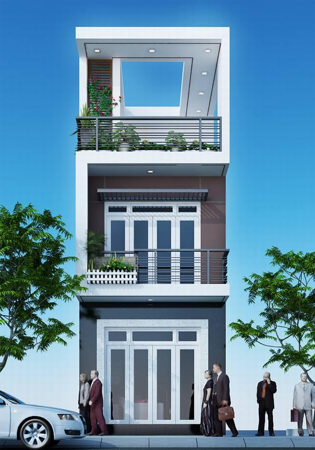 Tư vấn thiết kế mẫu nhà phố 3 tầng đẹp để bạn tham khảo - 01