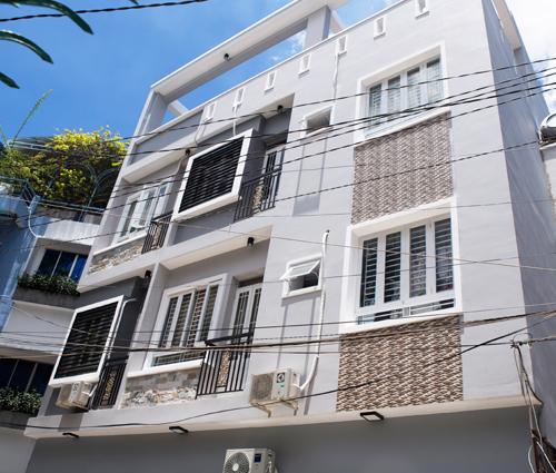 Thi công xây dựng nhà trọ để kinh doanh tại quận Phú Nhuận